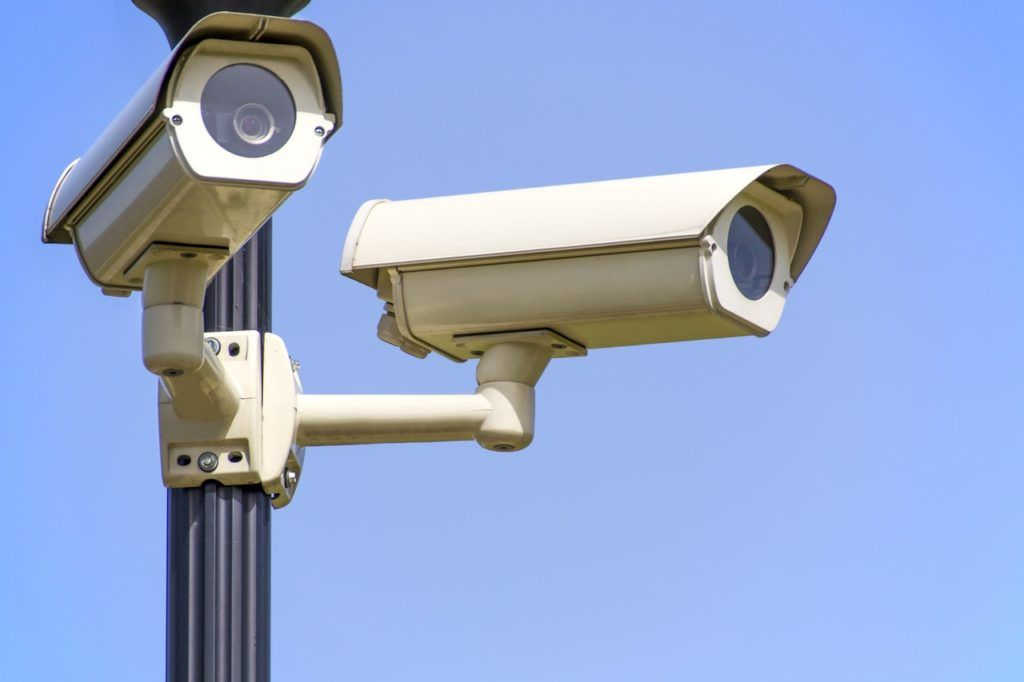 Security Cameras on the Streets: Overtown, Miami FL